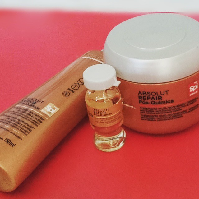 Mascara loreal absolut repair pos quimica resenha