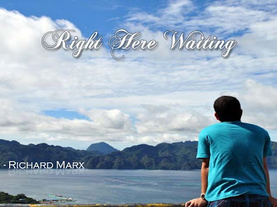 Right Here Waiting Richard Marx Flute Notes C Music Letter