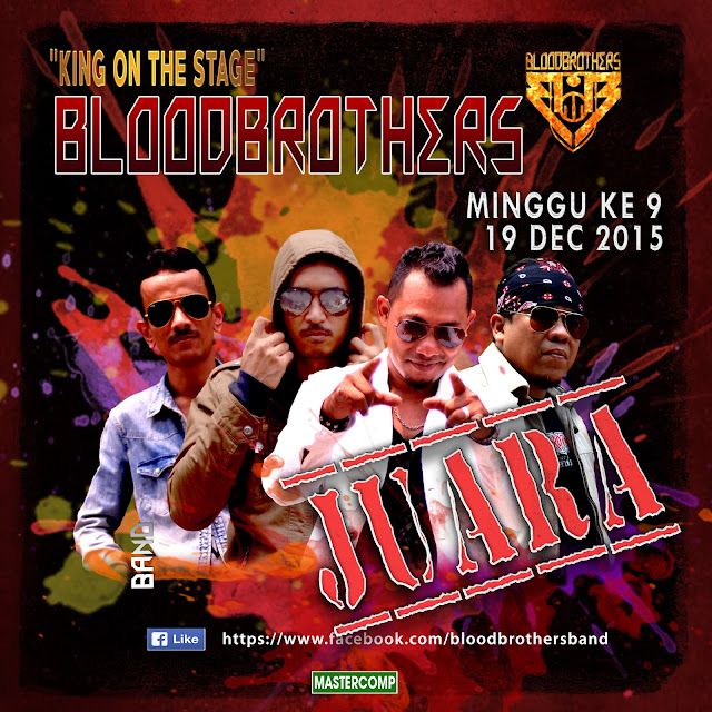 Bloodbrothers Band Juara King On Stage minggu 9