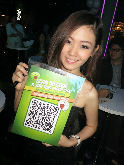 a singapore wechat girl with QR scan id