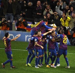 Resultado Partido Barcelona Vs Real Madrid (2-2)