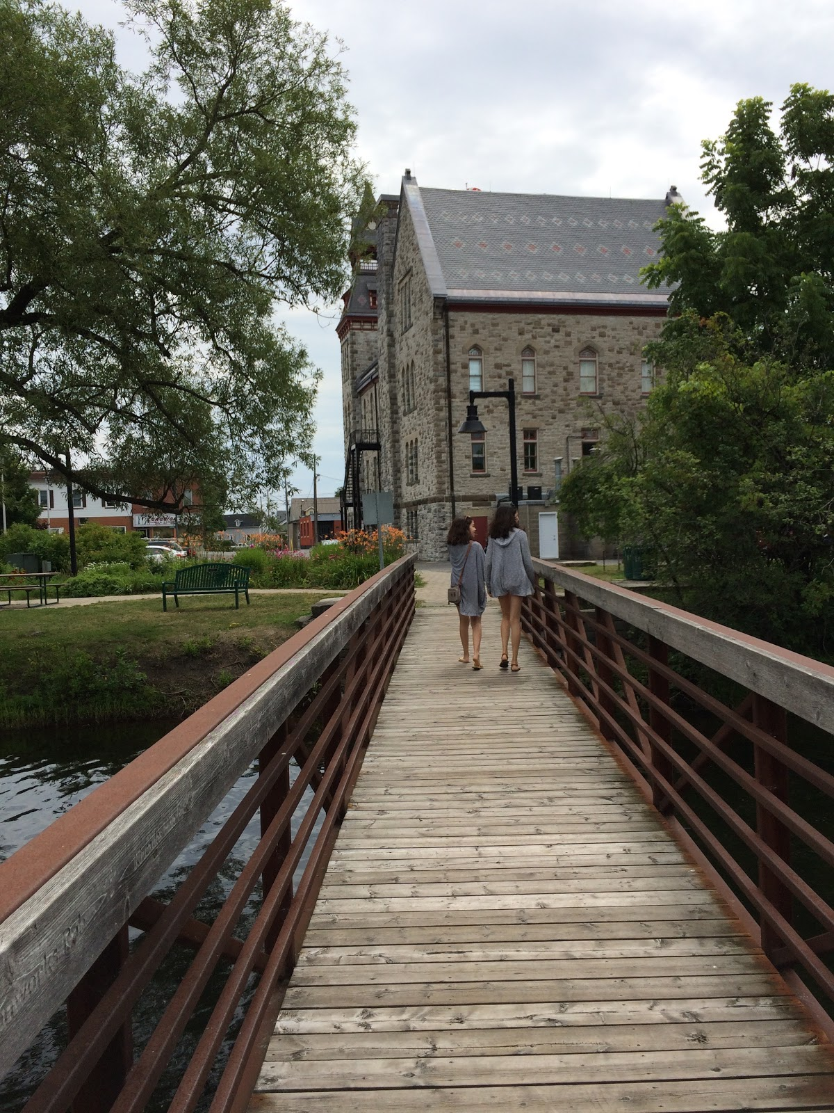 Boardwalk in Almonte, Ontario