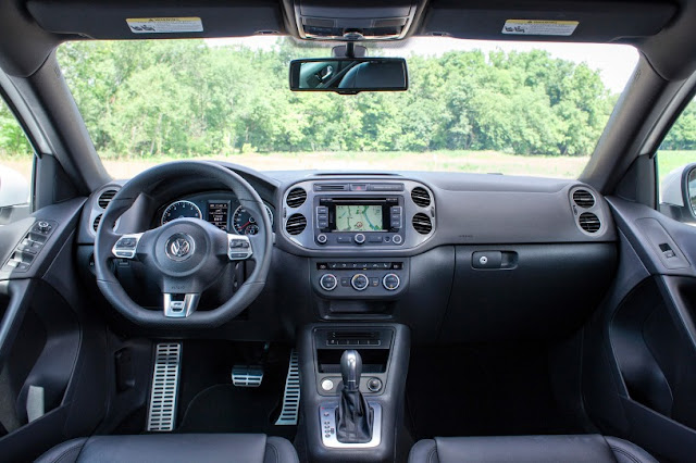 2015 all new Volkswagen Tiguan more power interior dashboard