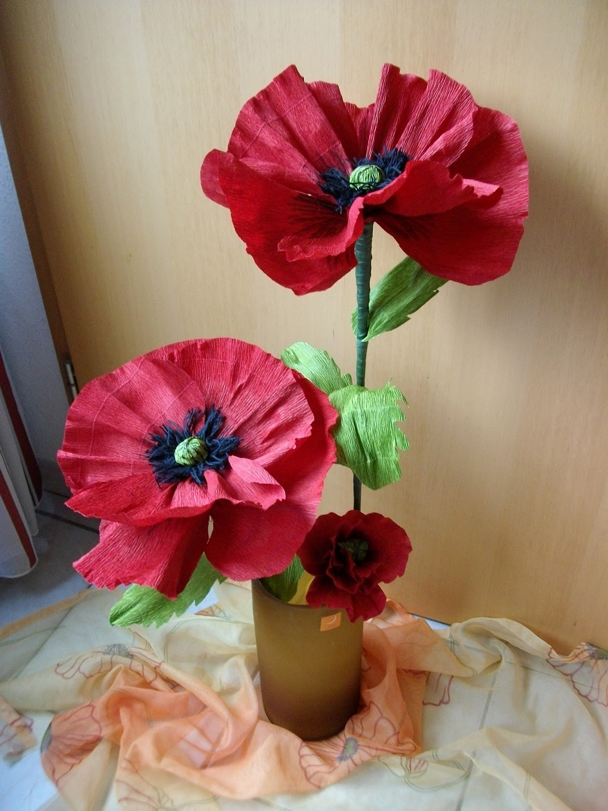 das-creativchen: mohnblumen sind soooooo schön !!!, Haus Raumgestaltung
