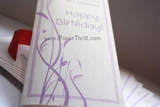 Textured floral wedding card