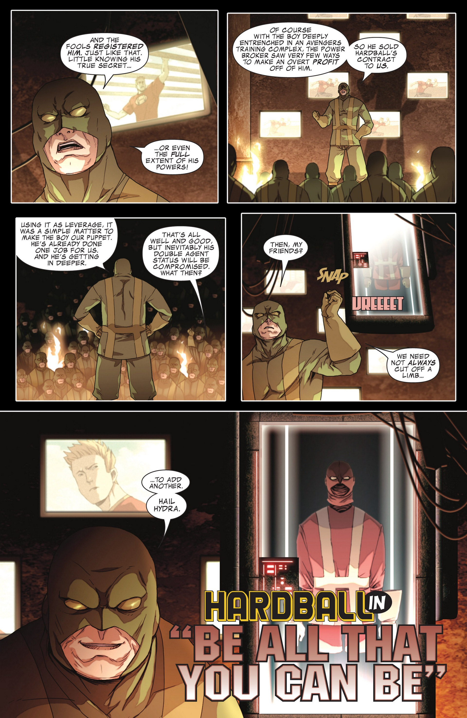 Read online Secret Invasion: The Infiltration comic -  Issue #4 - 24