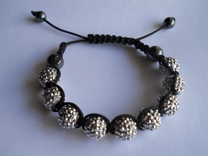 shamballa armband met parels van ebay