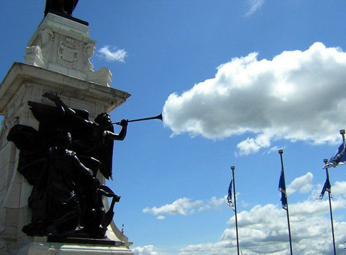 cloud and pipe funny photo
