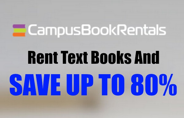 Campus Book Rentals #Sponsored