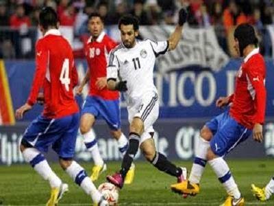 مصر وتشيلى بث مباشر الودية مجانا 30-5-2014 Chile vs Egypt
