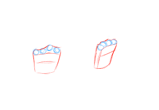 Drawing Hands Step 2