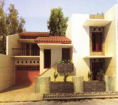 Desain Garasi Samping Kanan - Rajasthan Board L