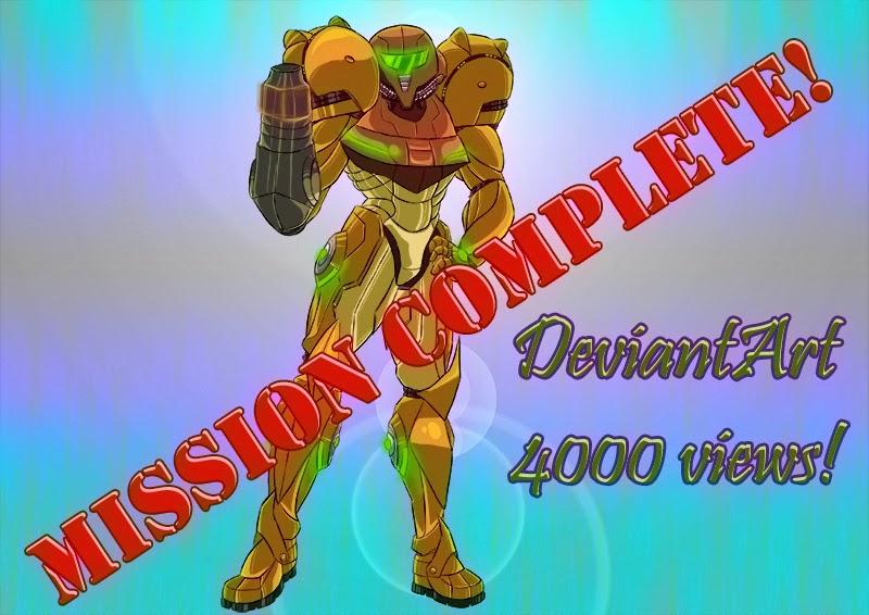 Samus - DevianArt 4000 Hits!