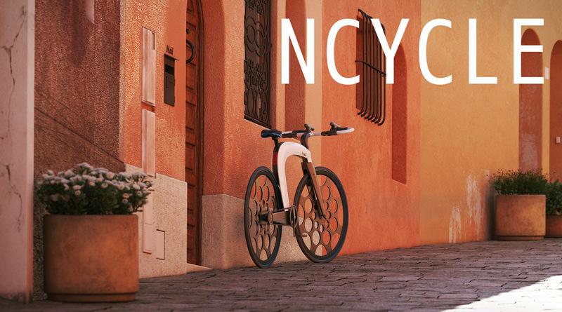 本体ごと鍵をかけちゃうタイプの自転車:NCYCLE