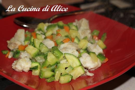 La cucina di alice persico e verdure in padella - La cucina di alice ...