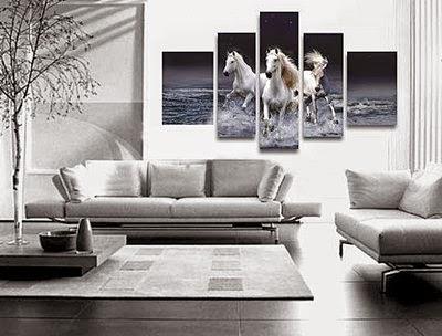 Living Room Wall Art   Horses Poster Part 33