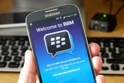 BBM Lebih Populer di iOS Ketimbang Android