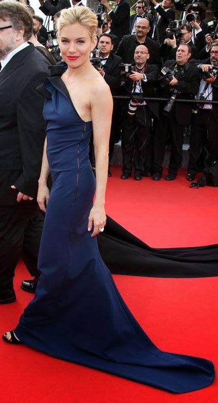 68º Festival Filme de Cannes, red carpet - Sienna Miller com Lavin