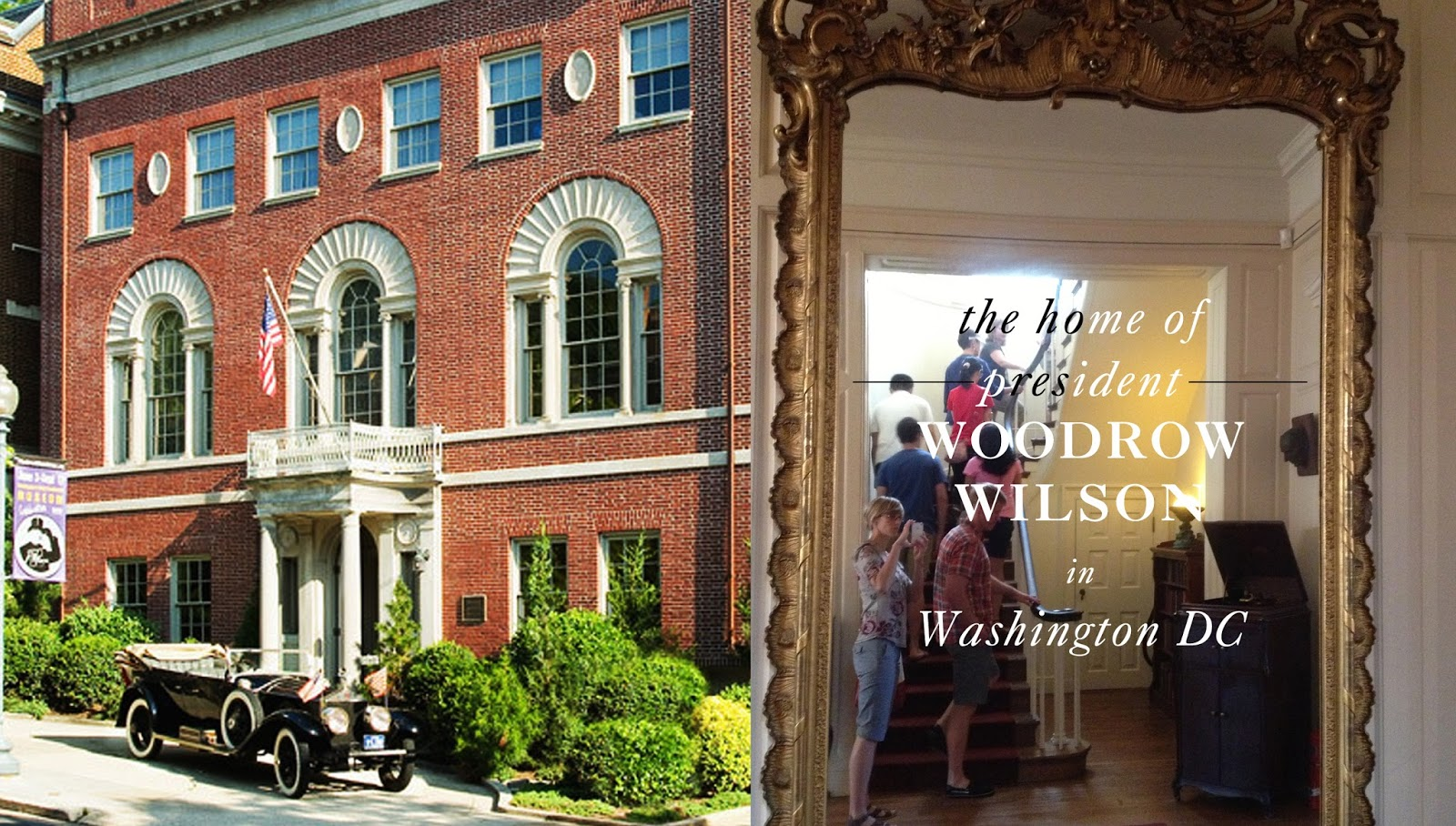 turn of the centuries woodrow wilson s house in washington dc we re on a woodrow wilson tour this week it seems after a crippling stroke in office and at the end of his term wilson and his second wife edith