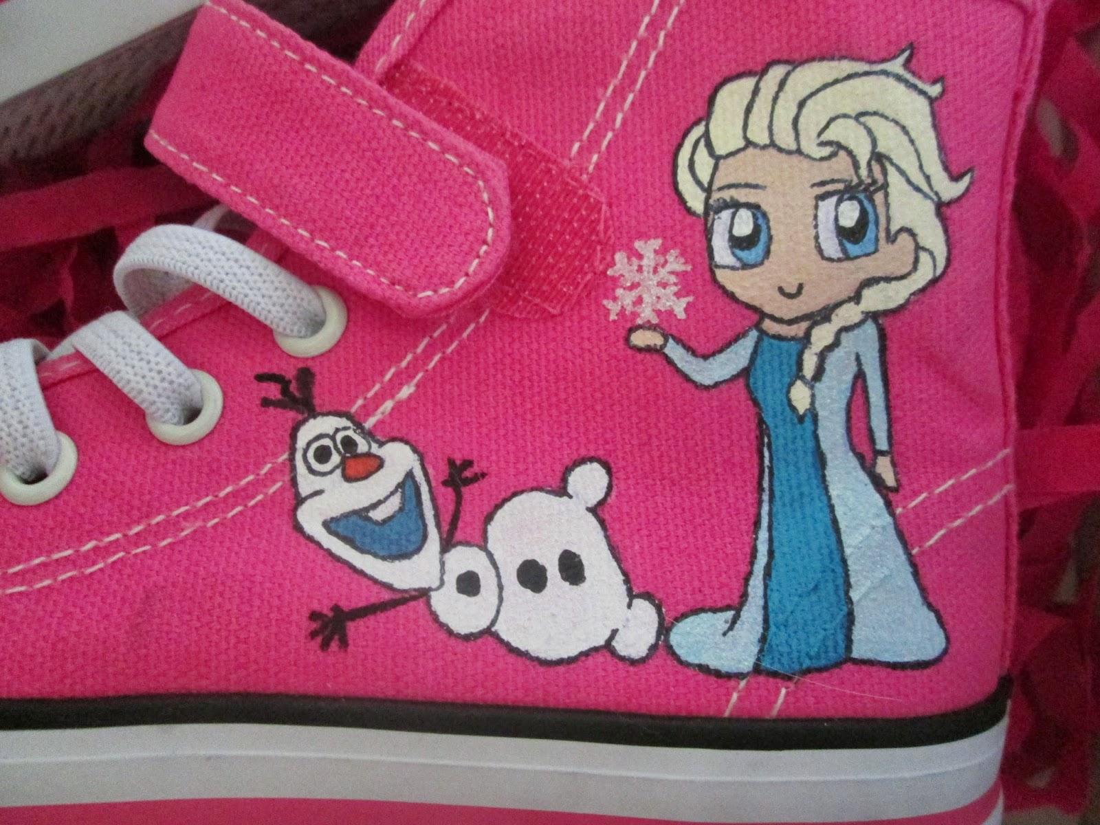 zapatillas pintadas personalizadas
