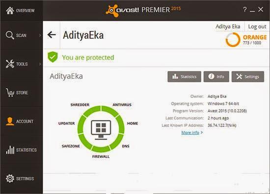 Avast Premier 2015 Full Activator Version screenshot by kontes-seo-news.blogspot.com