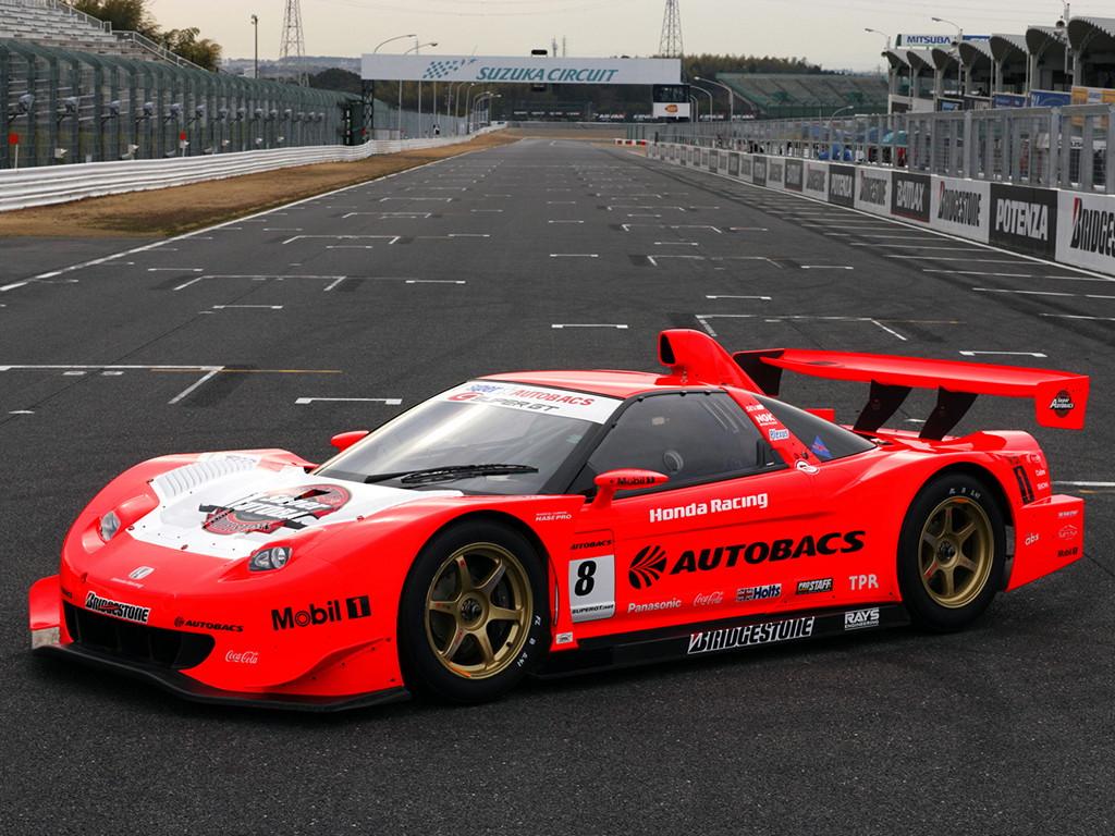 Honda NSX japoński supercar sportowy samochód kultowy V6 RWD VTEC wyścigi racing JGTC Super GT GT500