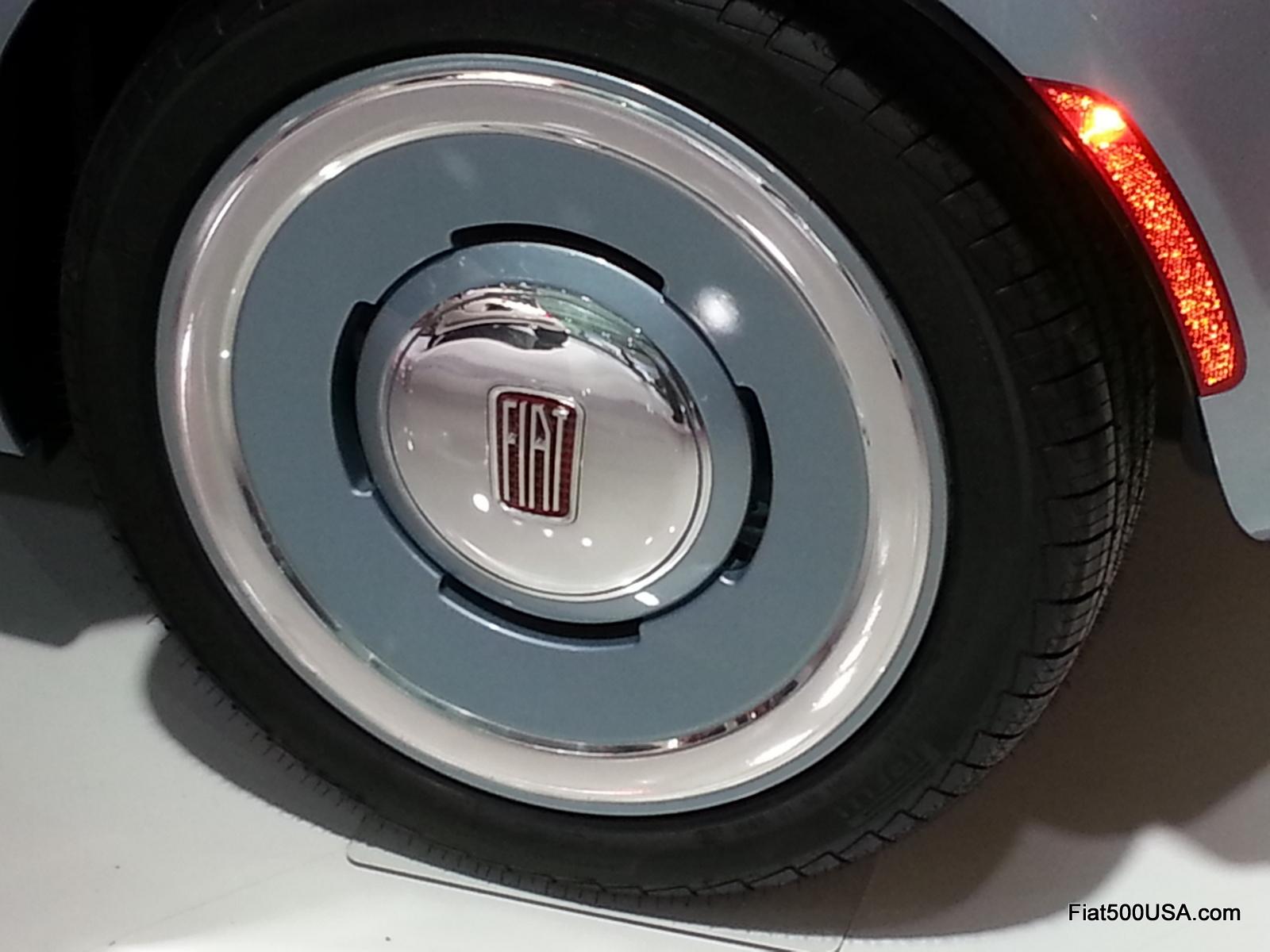 fiat 500mopar at the detroit auto show   fiat 500 usa