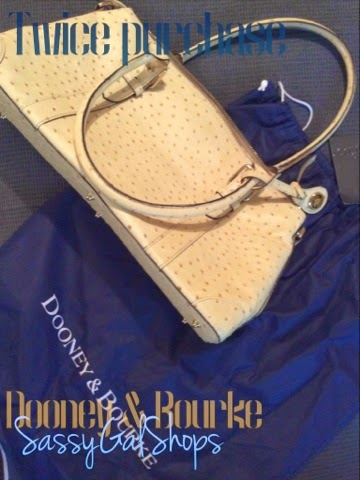 Dooney & Bourke Satchel /  From Twice