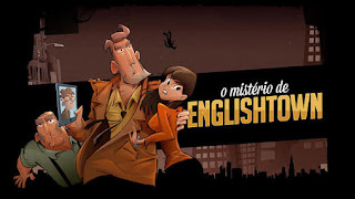 Screenshots of the O misterio de Englishtown for Android tablet, phone.