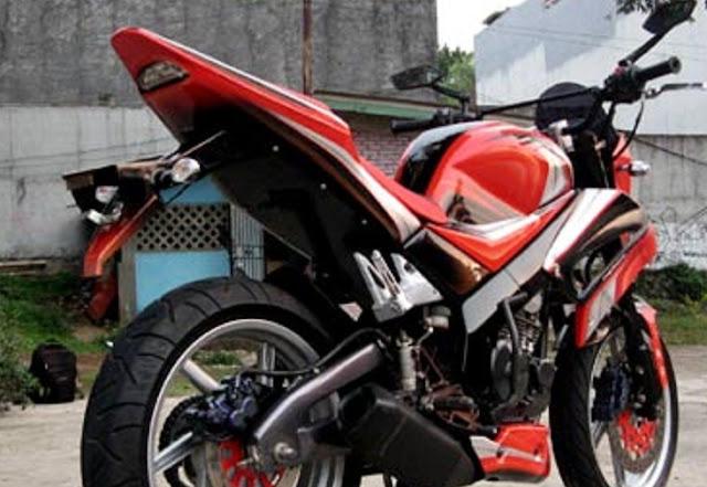 Gambar Modifikasi Motor Yamaha Scorpio Z CW 2013