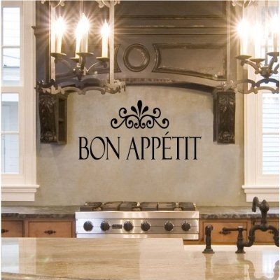 Art wall decor contemporary kitchen stencils designs for Kitchen cabinets lowes with modern wall art stickers