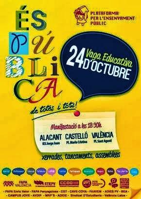 VAGA EDUCATIVA 24 D'OCTUBRE