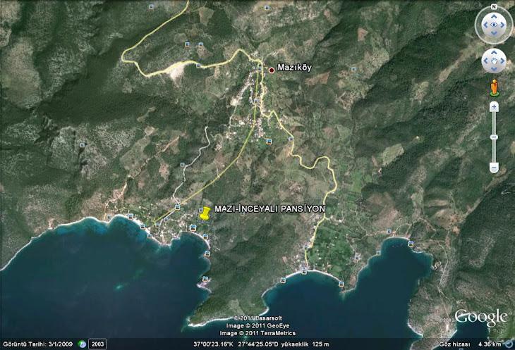 Google Earth-İnceyalı Pansiyon