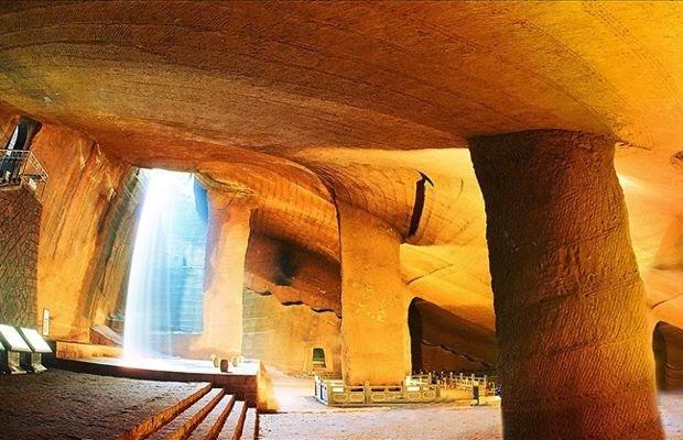 Longyou Cina, complesso misterioso di grotte e tunnel