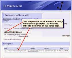 Como crear correos desechables