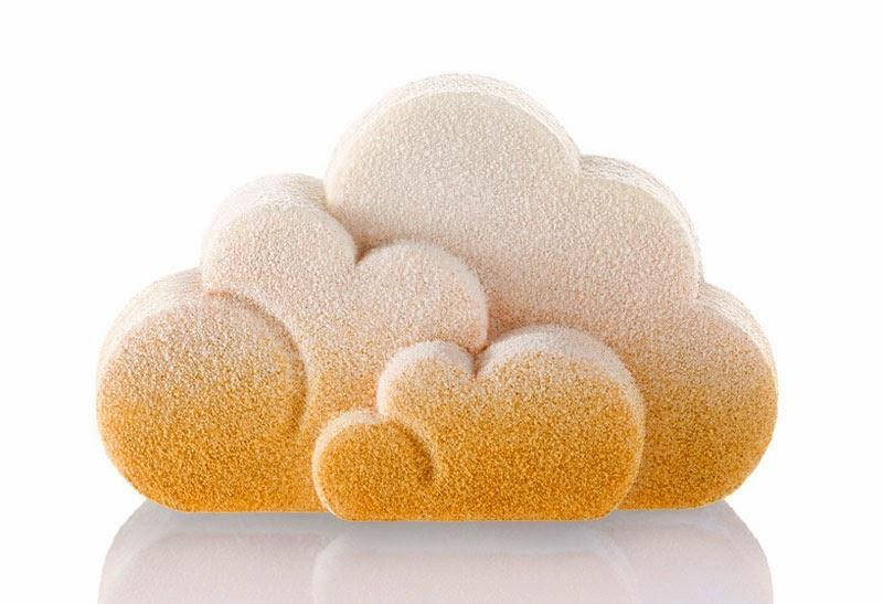 Snow Clouds, pastel helado Häagen Dazs