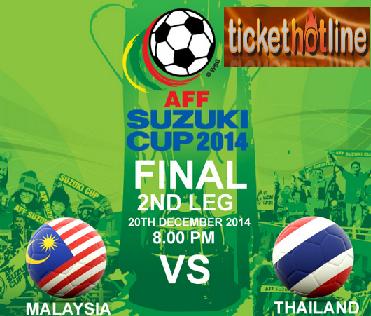 Keputusan Malaysia Vs Thailand 17 Disember 2014