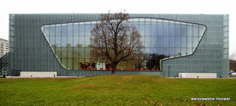 Muranów getto muzea Warszawa Żydzi architektura wystawa