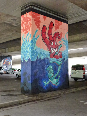Graffiti, Streetart, Donnersbergerbrücke