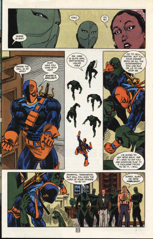 Deathstroke (1991) Issue #31 #36 - English 21