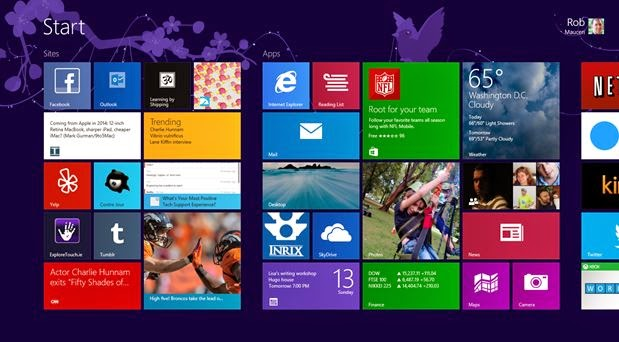 Windows 8.1 Enterprise Start