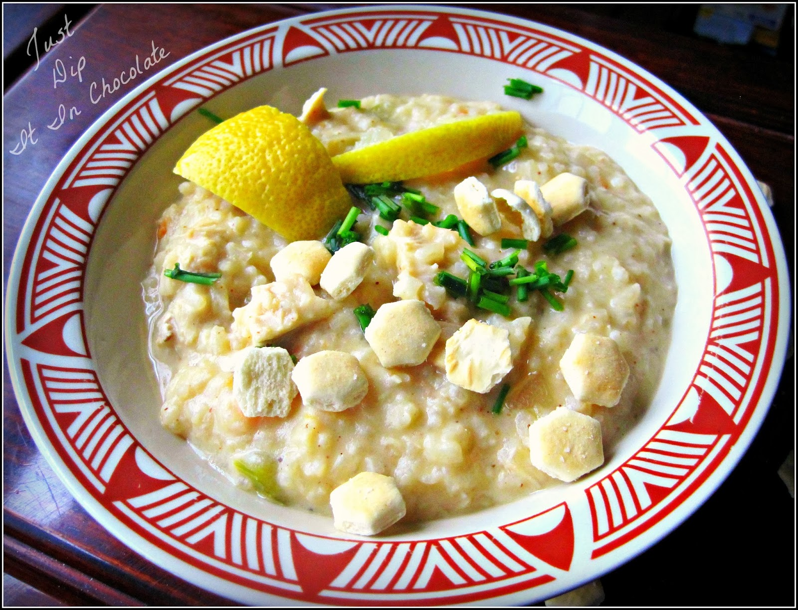 Avgolemono Lemon Rice and Chicken Soup Recipe Tangy Lemon, Creamy Rice and Savory Chicken all in one delicious dish perfect for a snowy night family dinner! #avgolemono #chickensoup #soup #lemon #rice