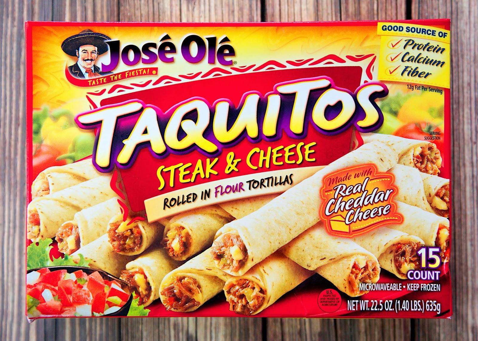 Taquito-lada Casserole Recipe - use frozen Jose Ole taquitos for a quick Mexican taquito enchilada casserole. Top with lettuce, tomatoes, olives, green onions and sour cream.