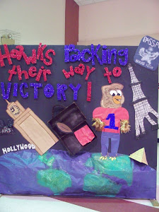 Junior Class Homecoming Display