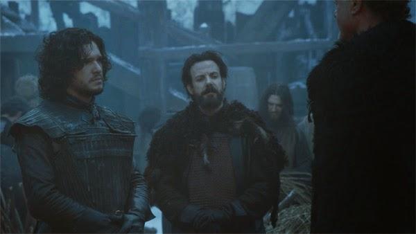 """Captura de Jon Nieve y Locke en  """"Juego de Tronos 4x04"""""""