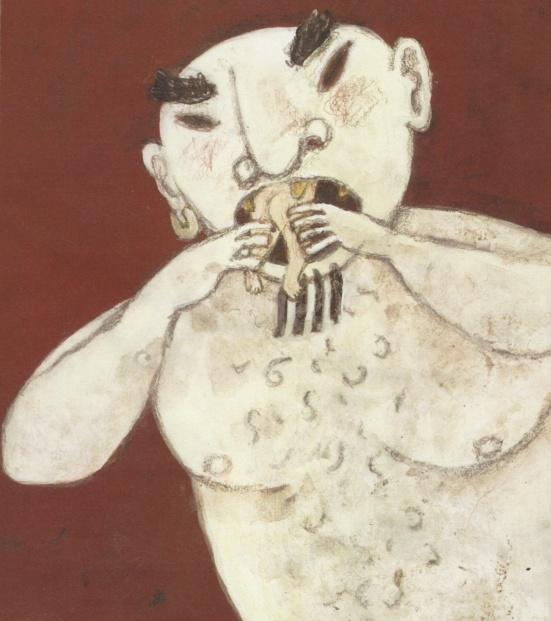 Cronus Eating Children Painting