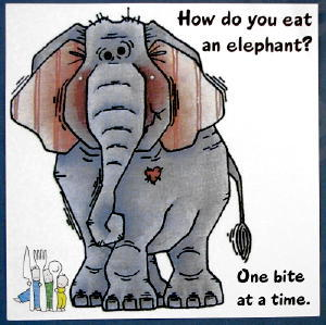 How to eat an elephant: Tips for writing your IT resume