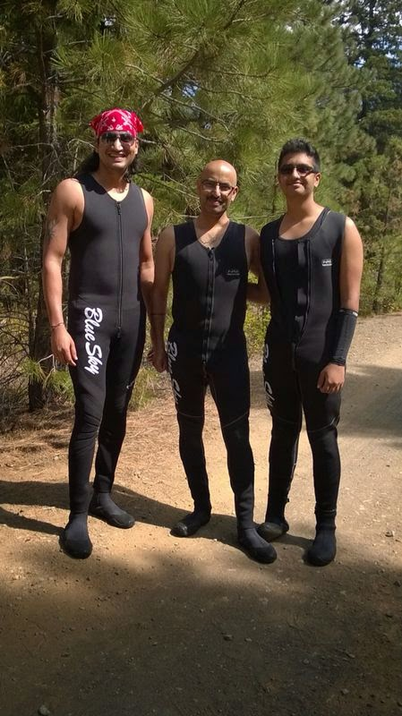 Best Rafting experience, Indian family outings in USA, Things to do near Seattle, Men in black wet suits