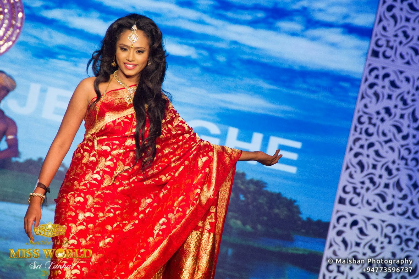 Siyatha - Lux Miss World Sri Lanka '14 - Grand Finale
