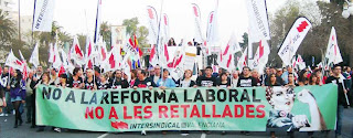Intersindical per les retallades justes